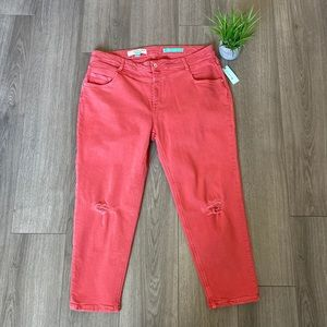 Pilcro And The Letterpress High Rise Slim Jeans